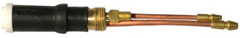 WeldCraft WP-20P Water Cooled Tig Torch Body, Straight Head, 3/4 in Handle (1 EA/EA)
