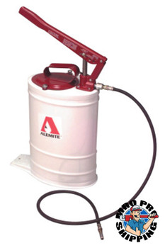 Alemite Multi-Pressure Bucket Pumps, 5 gal, 5 ft Hose (1 EA/EA)