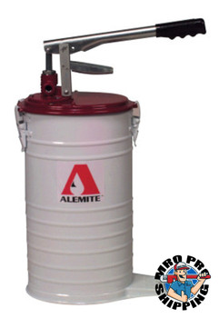 Alemite Volume Delivery Bucket Pumps, 25-35 lb (1 EA/EA)