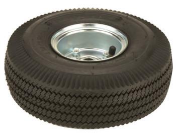 Harper Trucks Truck Wheels, WH 60, Solid Rubber, 10 in Diameter (1 EA/EA)