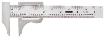 General Tools Slide Calipers, 0 in-4 in (1 EA/EA)