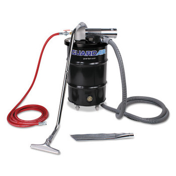 Guardair Complete Vacuum Units, 30 gal, (3) Tools/Drum and Dolly/Filter (1 EA/EA)