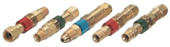 Western Enterprises Quick Connect Components, Male Plug, Inert Gas, Hose to Machine (1 EA/EA)