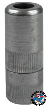 Alemite Hydraulic Coupler w/Metal Seal & Built-In Check Valve, 1/8 in, F/F, Blister Pk (1 EA/EA)