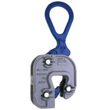 "Apex Tool Group Short Leg Structural ""GX"" Clamps, 2 tons WWL, 1/16 in-7/8 in Grip (1 EA/EA)"