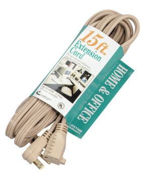 CCI Air Conditioner Extension Cord, 15 ft, 1 Outlet (1 EA/EA)