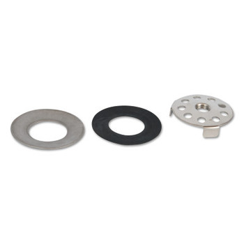 Guardian Drain Plate Assemblies for Plastic Bowls, Cupped Washer; Gasket, Gray (1 EA/EA)