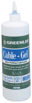 Greenlee Cable-Gel Cable Pulling Lubricants, 1 qt Squeeze Bottle (12 BTL/EA)