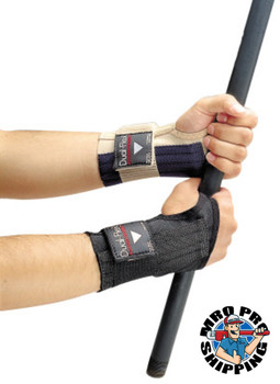 Allegro LARGE DUAL-FLEX WRIST SUPPORT BLACK (1 EA/EA)