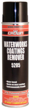 Aervoe Industries Waterworks Coatings Removers, 14 oz Aerosol Can (12 EA/EA)