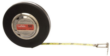Apex Tool Group Banner Measuring Tapes, 3/8 in; 10 mm x 164 ft; 50 m, Inch/Metric (1 EA/EA)