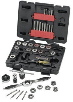 Apex Tool Group 40 Piece Tap & Die Drive Tool Sets, Hex, Metric (1 SET/EA)