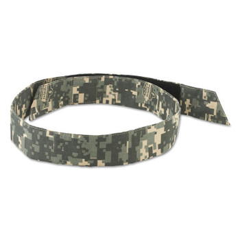 Ergodyne Chill-Its 6705 Evaporative Cooling Hook and Loop Bandanas, Camo (24 EA/EA)
