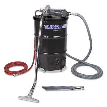Guardair Complete Vacuum Unit, 55 gal, 24 in Crevice Tool and 4 in Wand (1 EA/BAG)