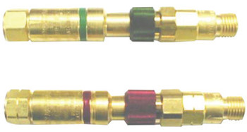 Western Enterprises Safemate Quick Connect Set w/Flash Arrestors, Regulator to Hose, Oxygen/Fuel Gas (1 EA/EA)