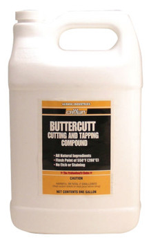 Aervoe Industries Buttercut Cutting/Tapping Compounds, 1 gal, Bottle (2 GAL/EA)