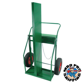 """Anthony Cylinder Trucks, Holds 2 Cylinders, 16"""" Solid Rubber (1 EA/EA)"""