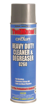 Aervoe Industries Crown Heavy Duty Cleaner/Degreaser, 20 oz Aerosol Can (12 CAN/EA)