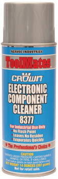 Aervoe Industries Electronic Component Cleaners, 14 oz Aerosol Can (12 cs/LB)