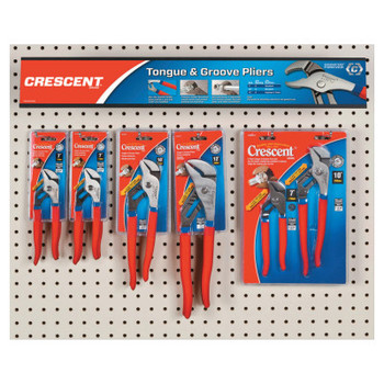 Apex Tool Group Tongue And Groove Pliers Displays, 16 Pieces (1 EA/EA)