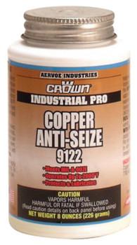 Aervoe Industries Anti-Seize Compounds, 8 oz Brush Top Bottle, Copper (1 EA/EA)