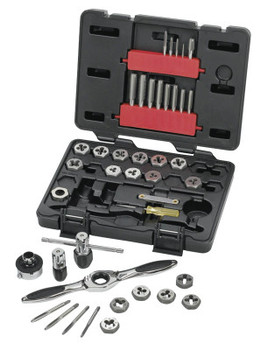 Apex Tool Group Ratcheting Tap and Die Drive Tool Set SAE (1 EA/SP)