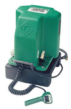 Greenlee Electric Hydraulic Pumps, 1.5 hp, 10,000 psi Max Op. Press. (1 EA/CT)
