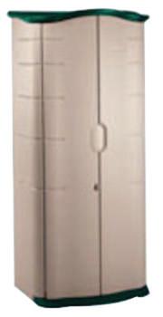 "Newell Rubbermaid 18 Cubic Feet Storage Shed 6' Height x 2'6""Width x 2'1""Depth (1 EA/EA)"