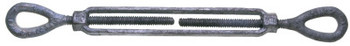 "Apex Tool Group 780 3/8""X6"" 1200#  EYE &EYE TURNBUCKLE (1 EA/BX)"