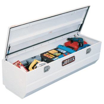 """Apex Tool Group Heavy-Duty Truck Chests, 59"""" x 20"""" x 19"""", White (1 EA/SP)"""