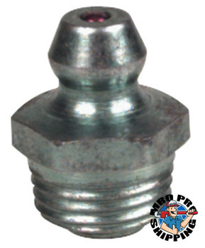 Alemite Thread Forming Fittings, Straight, 5/8 in, Male/Male, 1/8 in (500 EA/EA)