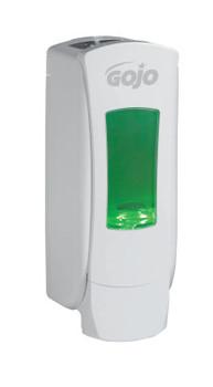Gojo ADX12 Dispensers, White, 1,250 mL (6 EA/EA)