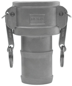 Dixon Valve Global Type C Couplers, 2 in (NPT), 325 Stainless Steel (1 EA/EA)