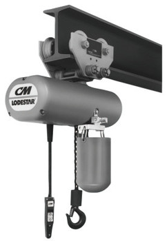 CM Columbus McKinnon Series 635 Low Headroom Trolleys (1 EA/PKG)