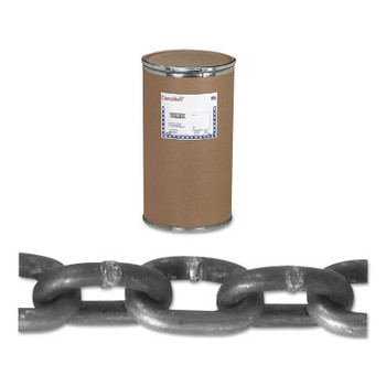 Apex Tool Group System 3 Proof Coil Chains, Size 3/16 in, 800 lb Limit, Galvanized (1000 DRM/PK)