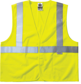 Ergodyne GloWear 8255HL Class 2 Vests, 2XL/3XL, Lime (1 EA/EA)