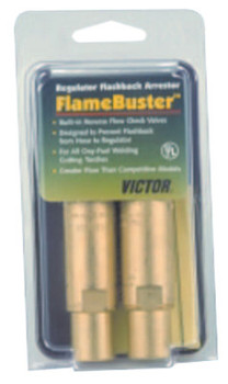 Esab Welding Flamebuster Plus Torch Flashback Arrestors, FBP-1; Heavy Duty, Oxy/Fuel, Torch (1 EA/EA)