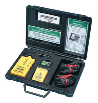 Greenlee Power Finder Closed Circuit Tracers, 300 VAC/VDC (1 EA/EA)