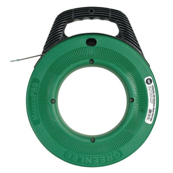 Greenlee Stainless Steel Fish Tapes, 1/8 in x 100 ft (1 EA/EA)