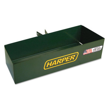 Harper Trucks Tool Boxes, Bolt On, Steel, 14 /14 in L x 5 in W x 3 in D, Green (1 EA/EA)