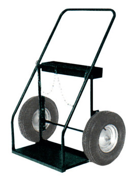"Harper Trucks Series 300 Trucks, Holds 9 1/4""-13"" Cylinders, 16 in Pneumatic, B.B. Wheels (1 EA/EA)"