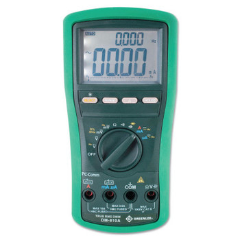 Greenlee DM-810A True RMS Digital Multimeter 1000 Volt (1 EA/EA)