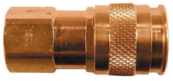 Coilhose Pneumatics Coilflow U Series Automatic Universal Couplers, 1/4 in (NPT) F (1 EA/EA)
