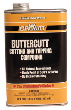 Aervoe Industries Buttercut Cutting/Tapping Compounds, 1 pt, Can (12 CAN/EA)