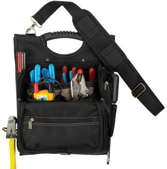 CLC Custom Leather Craft Electrician's Tool Pouches, 21 Compartment, Polyester (1 EA/EA)
