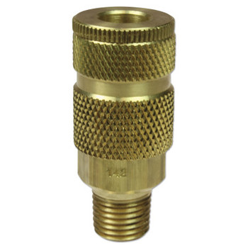 Coilhose Pneumatics Coilflow ARO Interchange Series Couplers, 3/8 in (NPT) M, Brass (25 EA/EA)