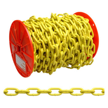 Apex Tool Group System 3 Proof Coil Chains, Size 1/4 in, 1,300 lb Limit, Blu-Krome (65 REL/EA)