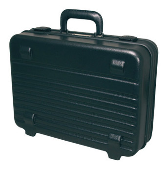 Apex Tool Group Attache Tool Case, 17 3/4 in x 5 3/4 in, Polyethylene, Black (1 EA/EA)