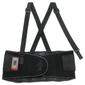 Ergodyne ProFlex 100 Economy Back Supports, Small, Black (1 EA/BX)