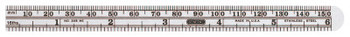 """General Tools Economy Precision Stainless Steel Rules, 6""""X15/32"""", Stainless Steel, Inch/Metric (1 EA/EA)"""